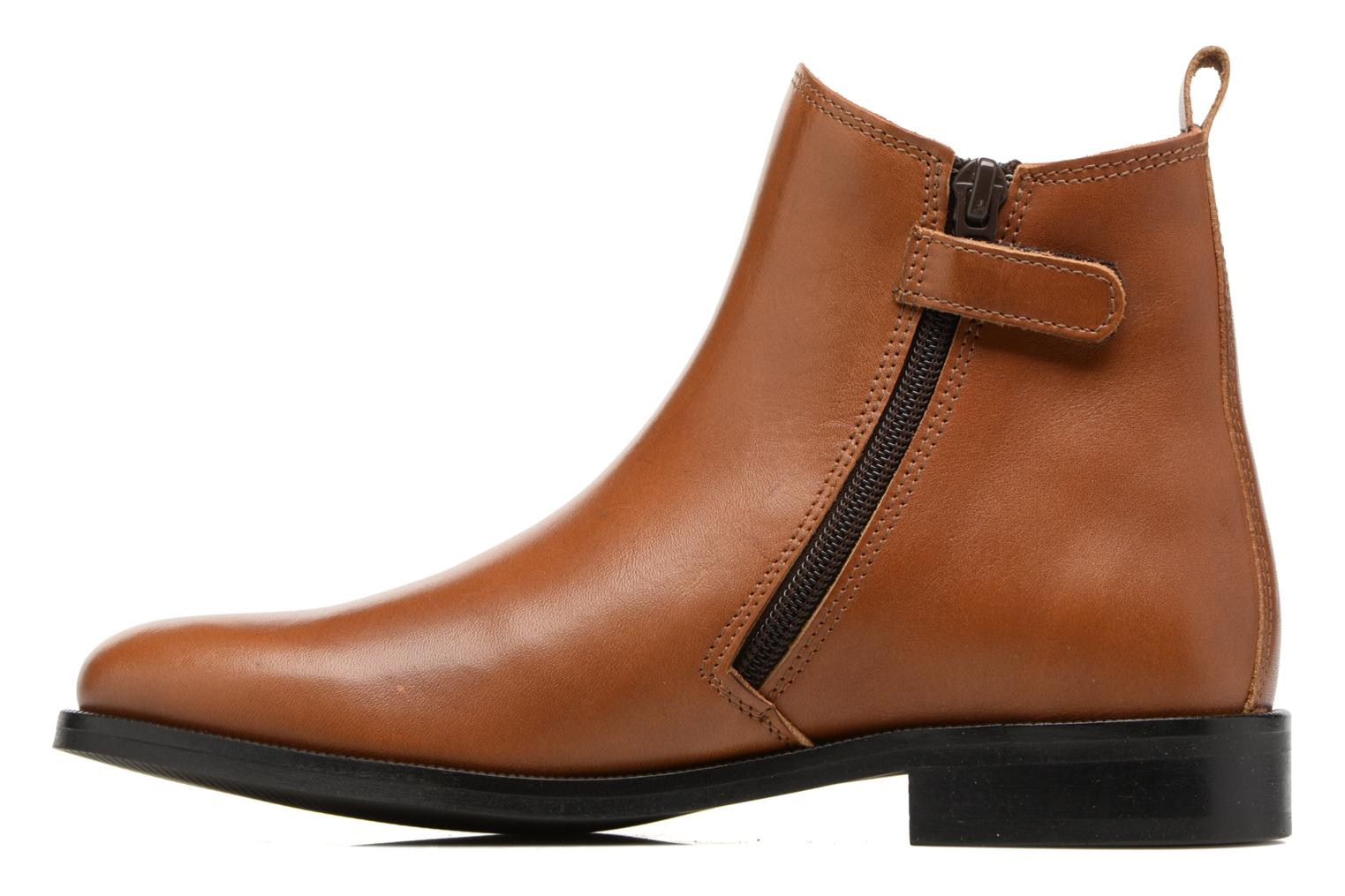 Ankle boots Little Mary Toby Brown front view