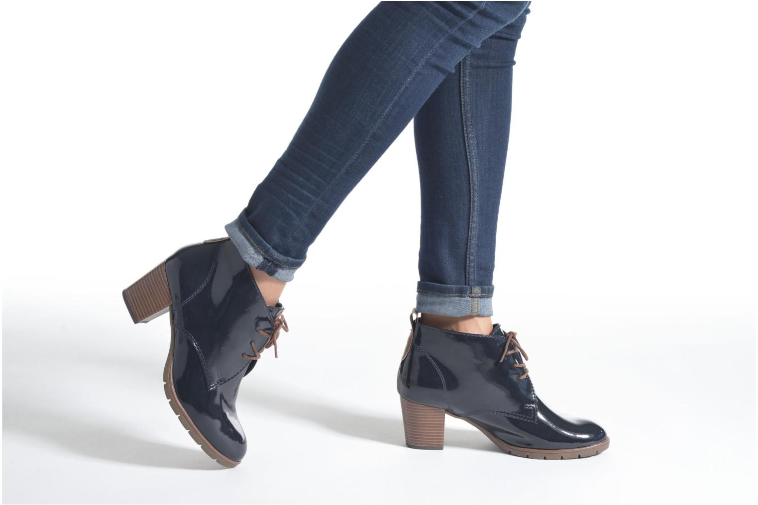 Ankle boots Marco Tozzi Ace 2 Blue view from underneath / model view