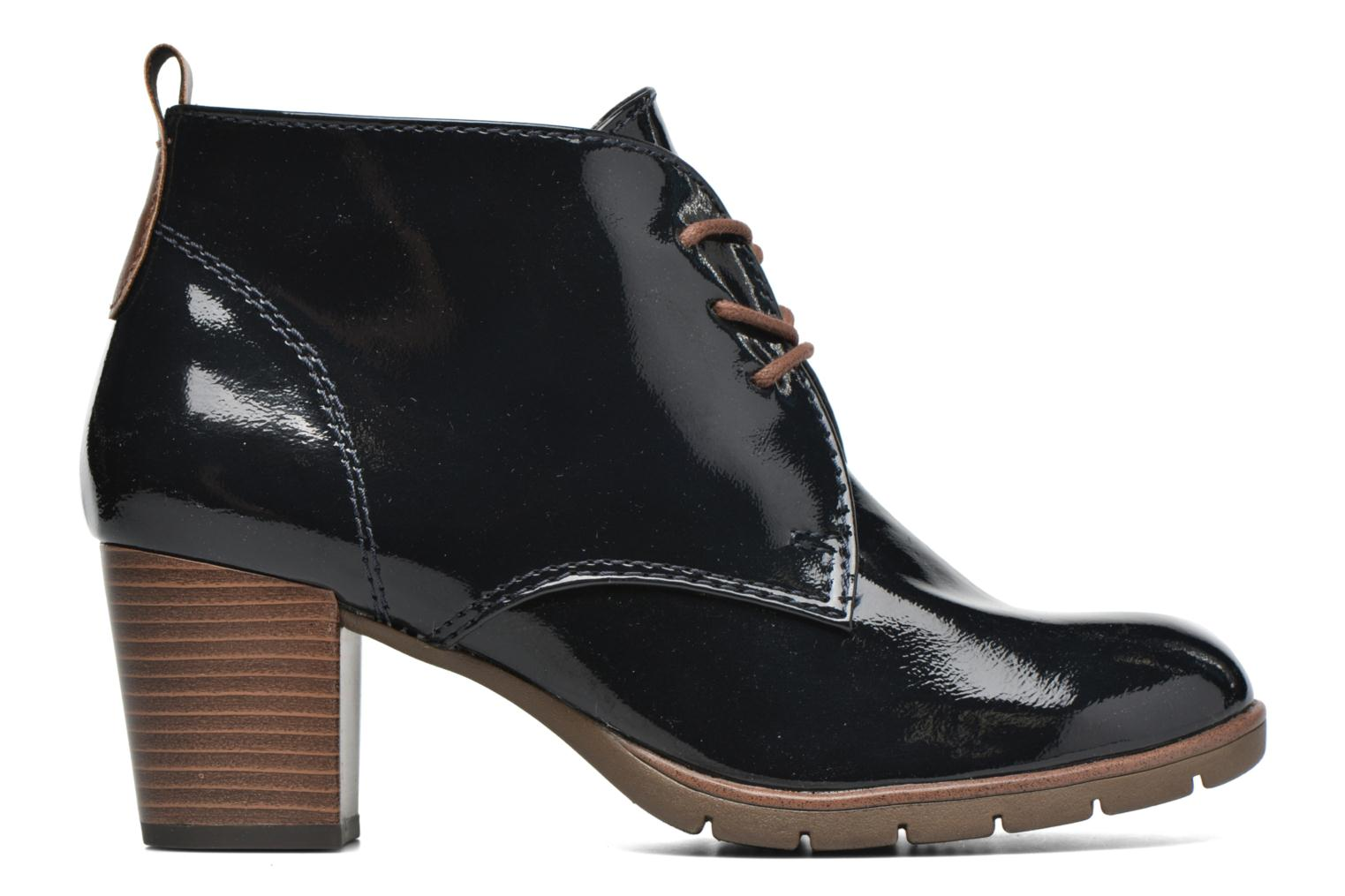 Ankle boots Marco Tozzi Ace 2 Blue back view