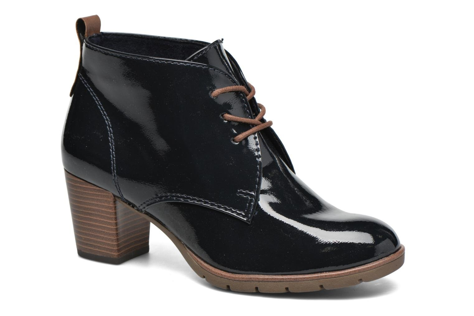 Ankle boots Marco Tozzi Ace 2 Blue detailed view/ Pair view