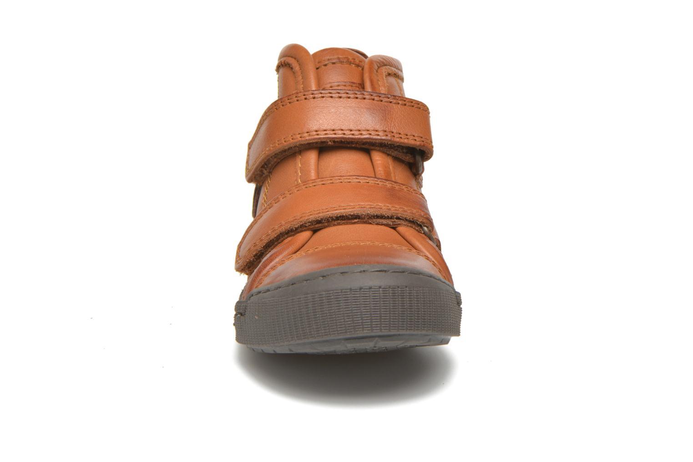 Baskets Bisgaard Jens Marron vue portées chaussures