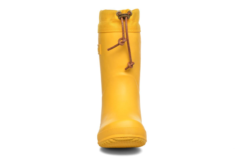 Bottes Bisgaard Knud Jaune vue portées chaussures