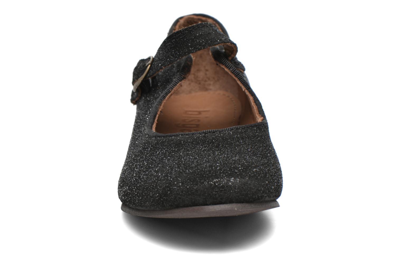 Ballerines Bisgaard Johane Noir vue portées chaussures