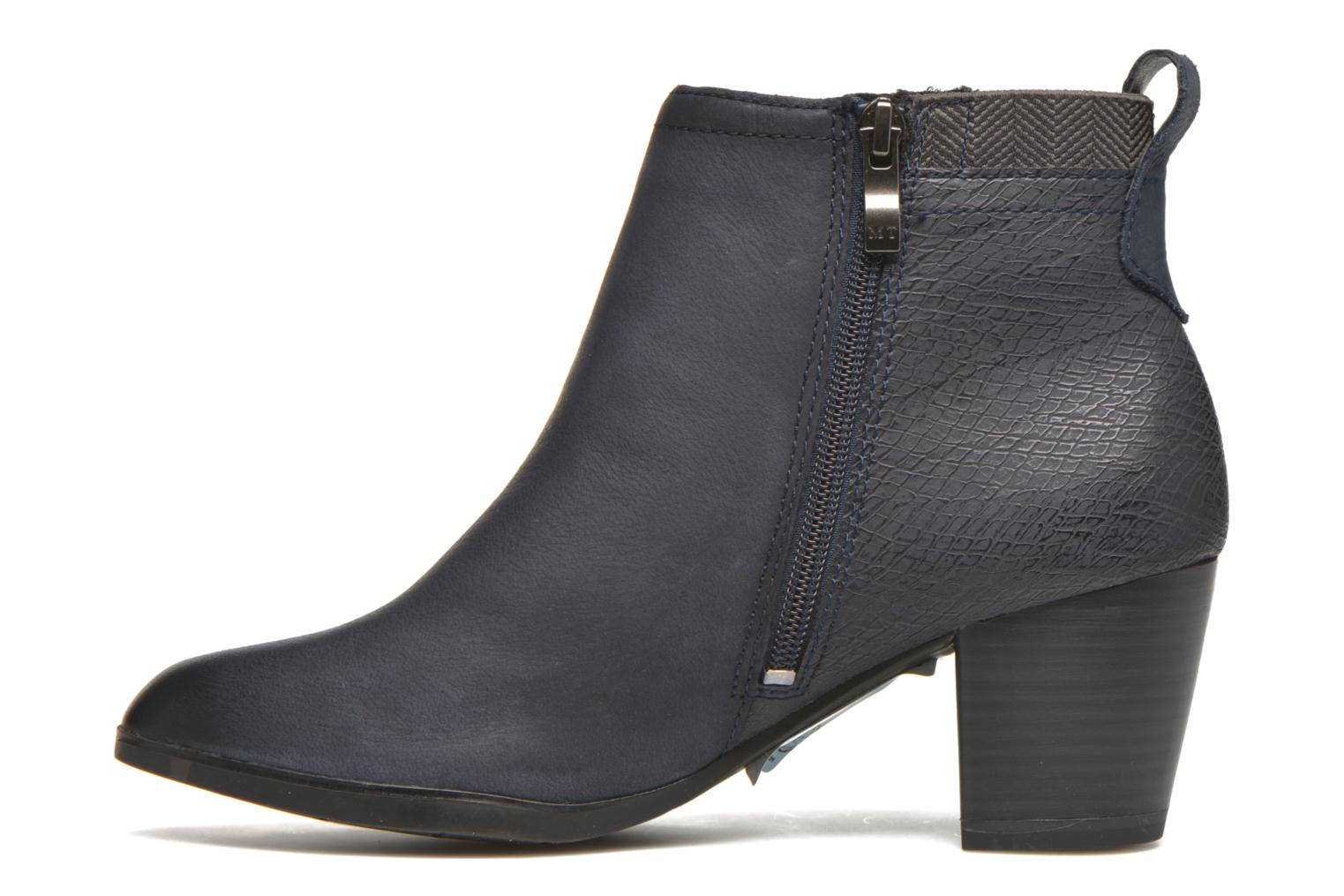 Ankle boots Marco Tozzi Corb Blue front view