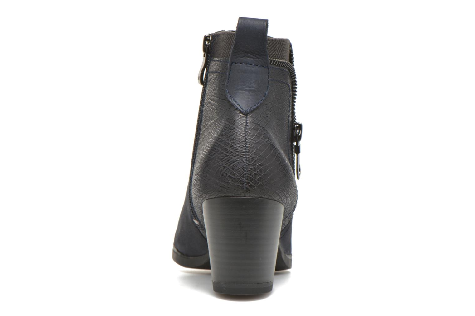 Ankle boots Marco Tozzi Corb Blue view from the right