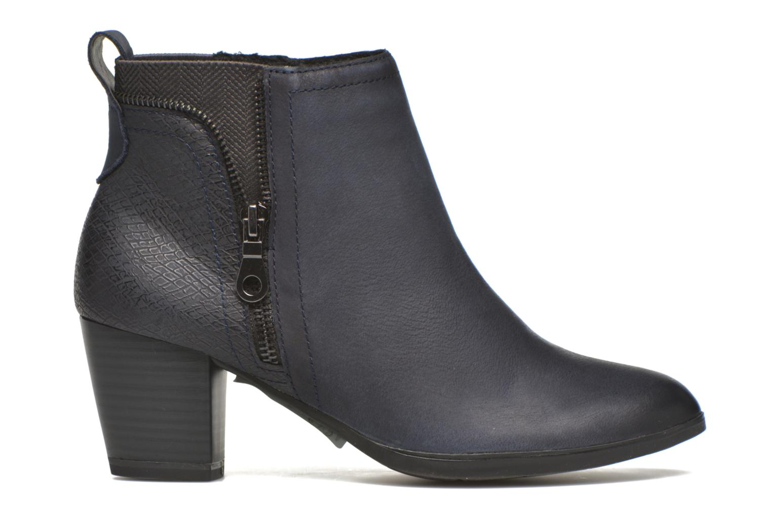 Ankle boots Marco Tozzi Corb Blue back view