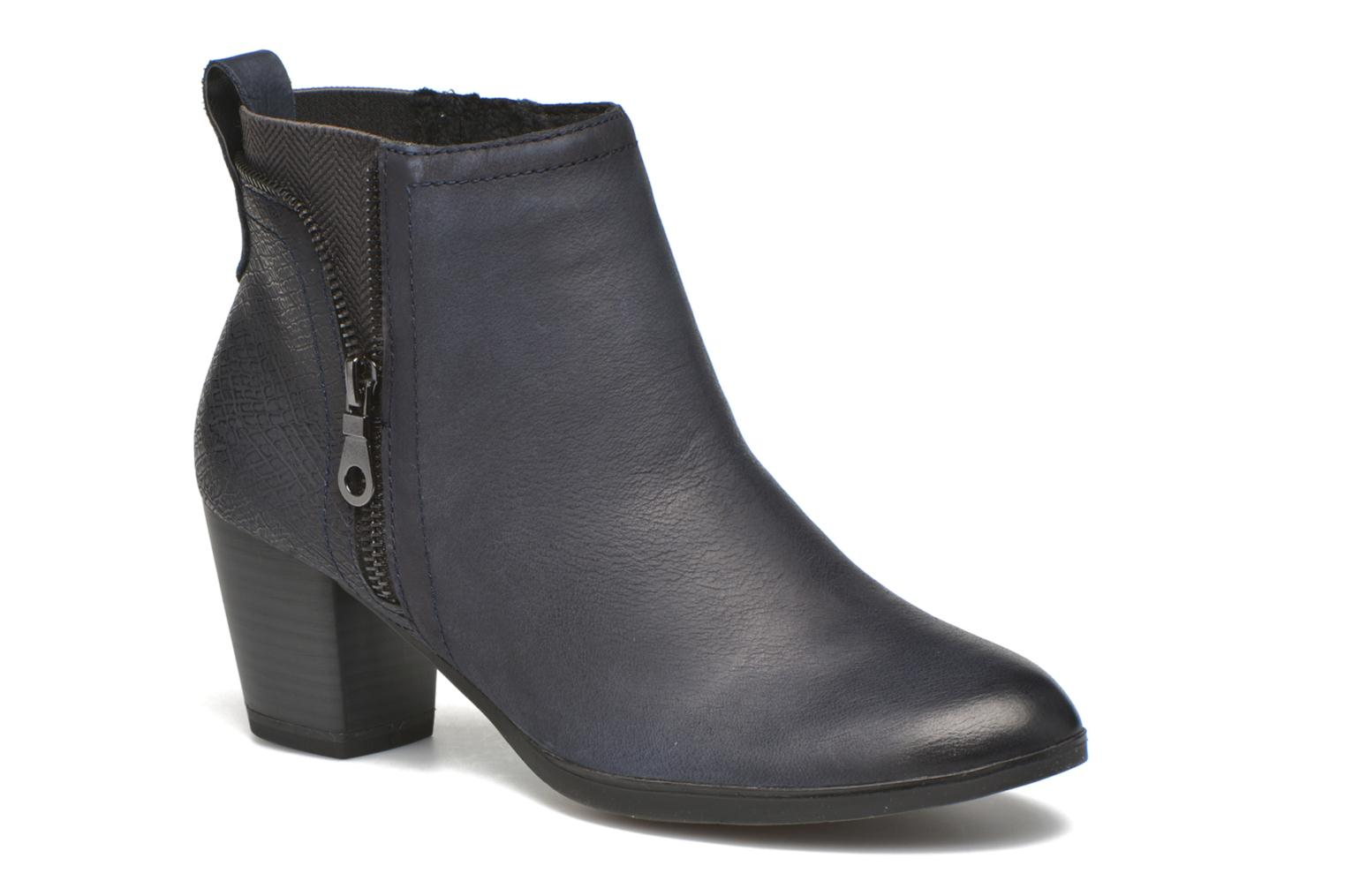 Ankle boots Marco Tozzi Corb Blue detailed view/ Pair view
