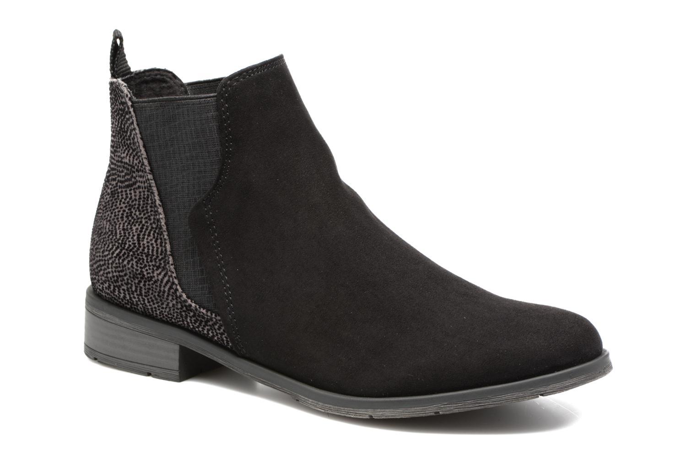 Bottines et boots Marco Tozzi Hotu Noir vue détail/paire
