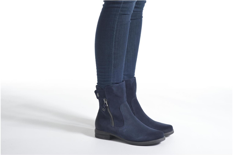 Bottines et boots Marco Tozzi Hareng Bleu vue bas / vue portée sac