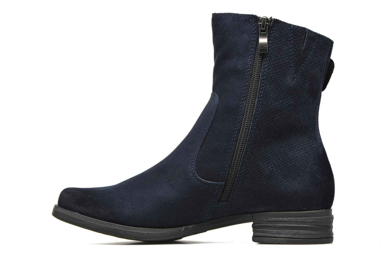 Bottines et boots Marco Tozzi Hareng Bleu vue face