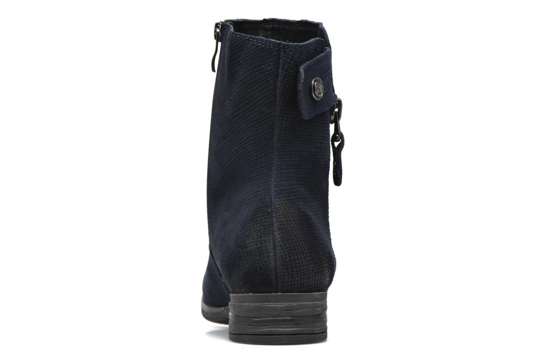 Bottines et boots Marco Tozzi Hareng Bleu vue droite