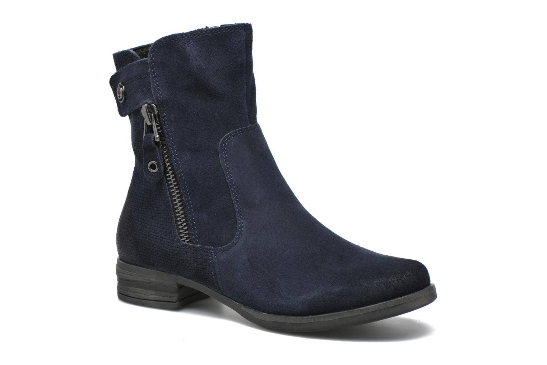 Bottines et boots Marco Tozzi Hareng Bleu vue détail/paire