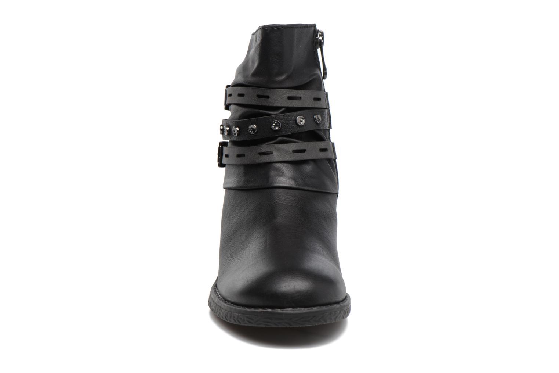 Bottines et boots Marco Tozzi Pili Noir vue portées chaussures