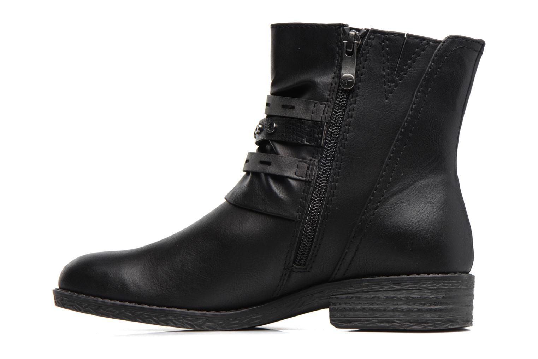Bottines et boots Marco Tozzi Pili Noir vue face