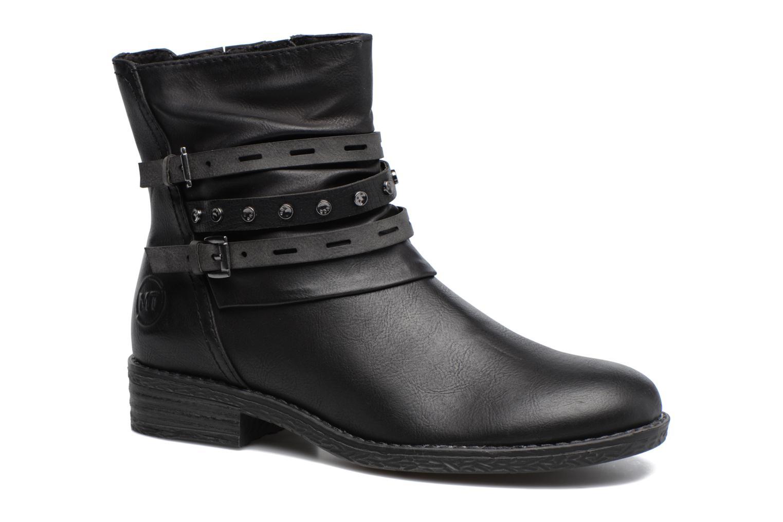 Bottines et boots Marco Tozzi Pili Noir vue détail/paire