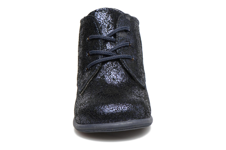 Chaussures à lacets Minibel Habiah Noir vue portées chaussures