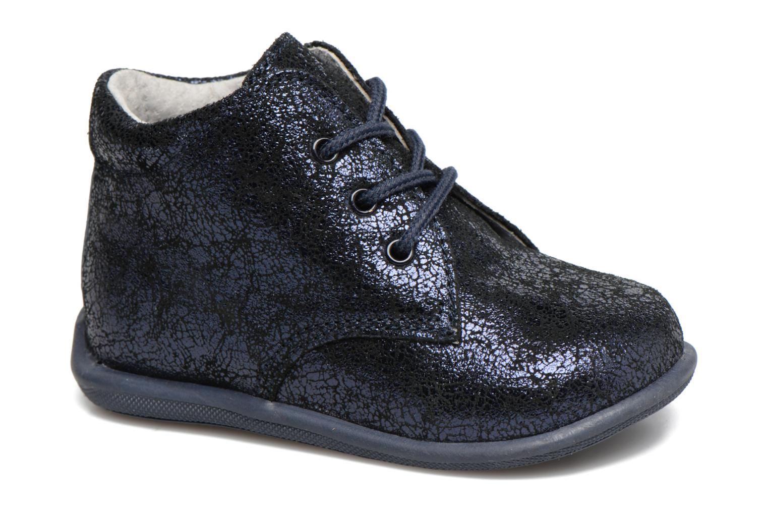 Lace-up shoes Minibel Habiah Black detailed view/ Pair view