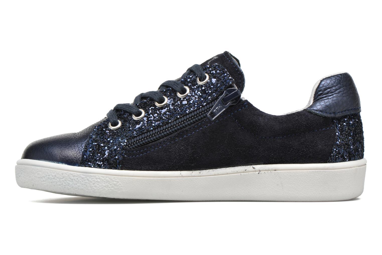 Sneakers Minibel Pixy Blauw voorkant