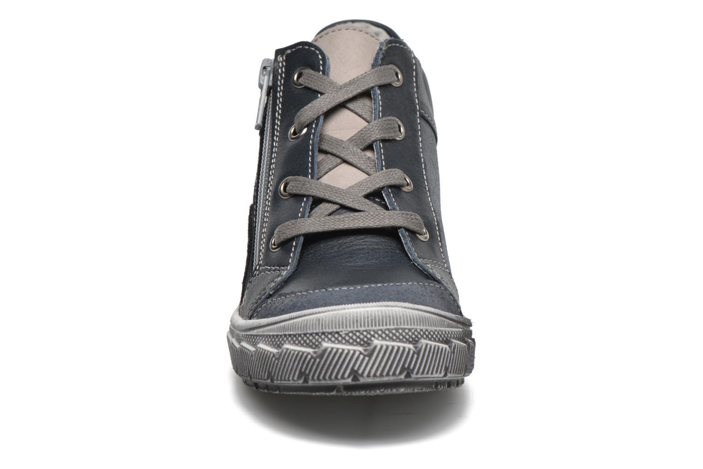 Baskets Minibel Ludovik Bleu vue portées chaussures