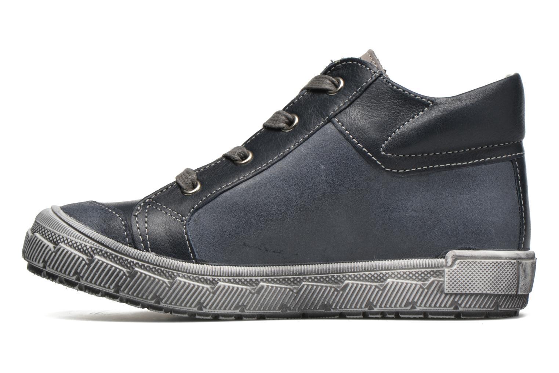 Sneaker Minibel Ludovik blau ansicht von vorne
