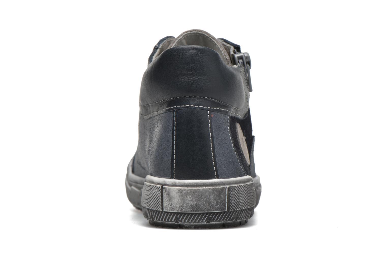 Sneaker Minibel Ludovik blau ansicht von rechts