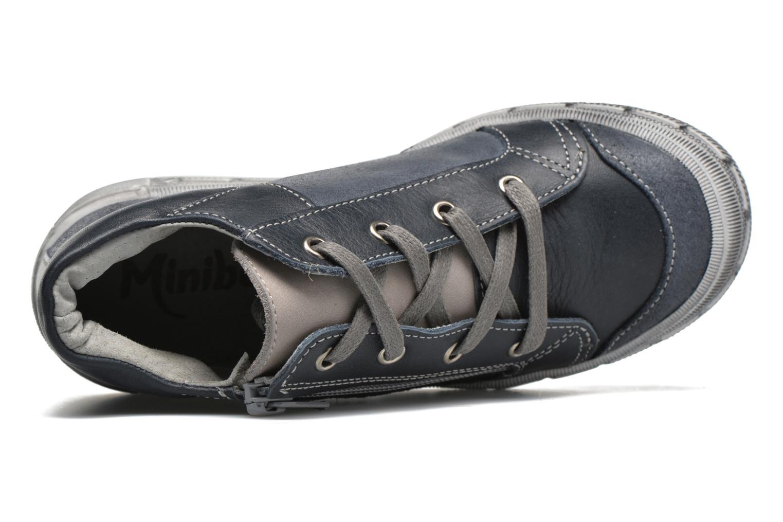 Sneaker Minibel Ludovik blau ansicht von links