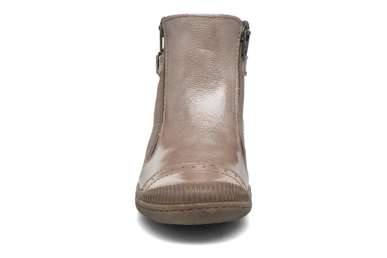 Bottines et boots Noël Pilar Beige vue portées chaussures