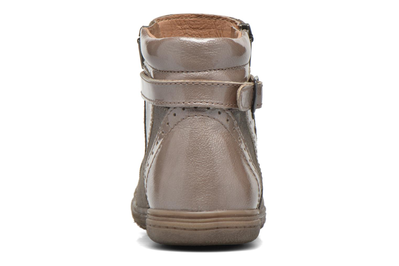 Bottines et boots Noël Pilar Beige vue droite