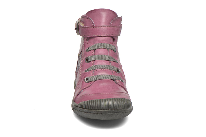 Bottines et boots Noël Pam Rouge vue portées chaussures