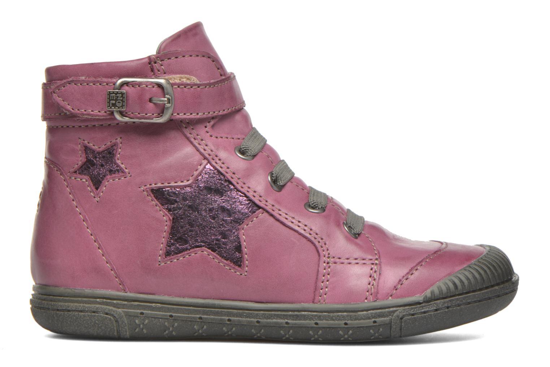 Bottines et boots Noël Pam Rouge vue derrière
