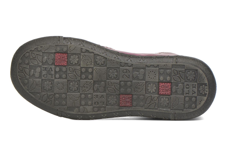 Stiefeletten & Boots Noël Pam rot ansicht von oben