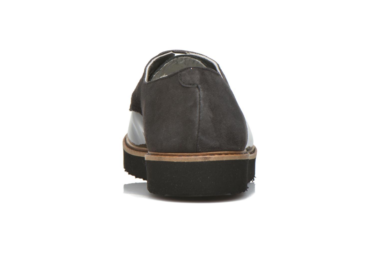 Chaussures à lacets Ippon Vintage James smart Gris vue droite