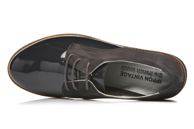 Chaussures à lacets Ippon Vintage James smart Gris vue gauche