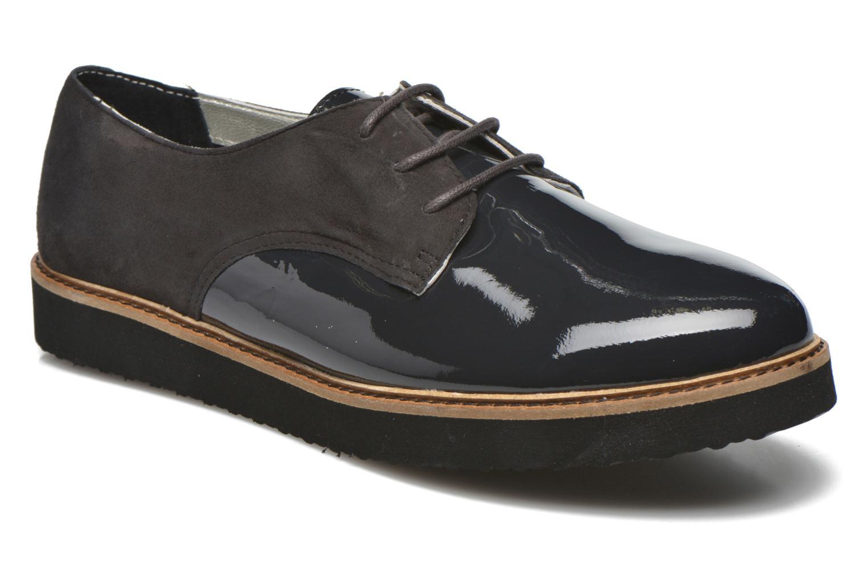 Chaussures à lacets Ippon Vintage James smart Gris vue détail/paire