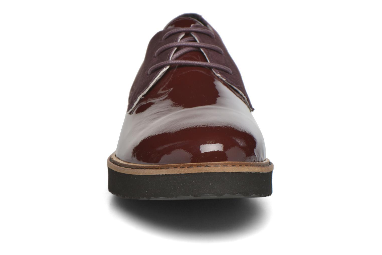 Chaussures à lacets Ippon Vintage James smart Bordeaux vue portées chaussures