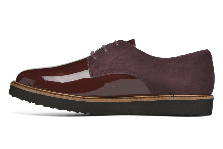 Chaussures à lacets Ippon Vintage James smart Bordeaux vue face