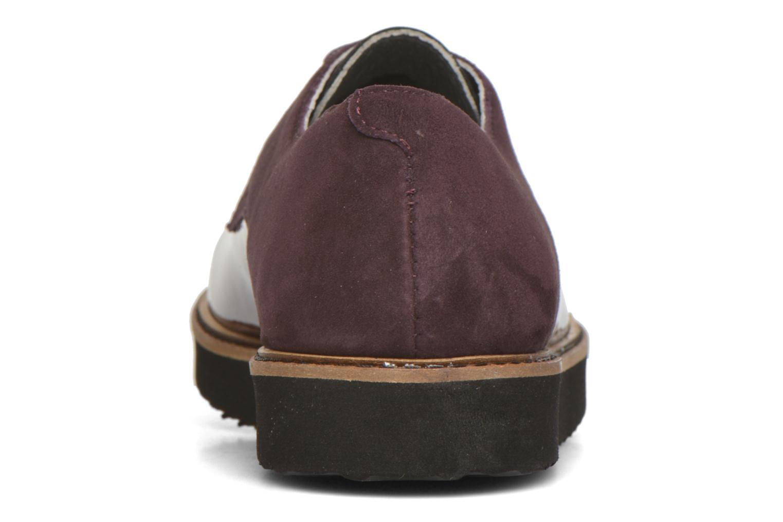 Chaussures à lacets Ippon Vintage James smart Bordeaux vue droite