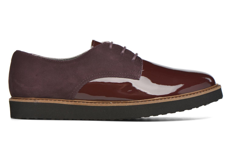 Chaussures à lacets Ippon Vintage James smart Bordeaux vue derrière