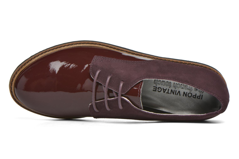 Chaussures à lacets Ippon Vintage James smart Bordeaux vue gauche