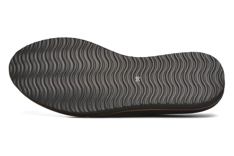 Chaussures à lacets Ippon Vintage James smart Bordeaux vue haut