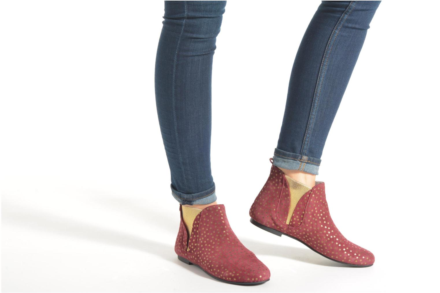Ankle boots Ippon Vintage Patch gold Blue view from underneath / model view