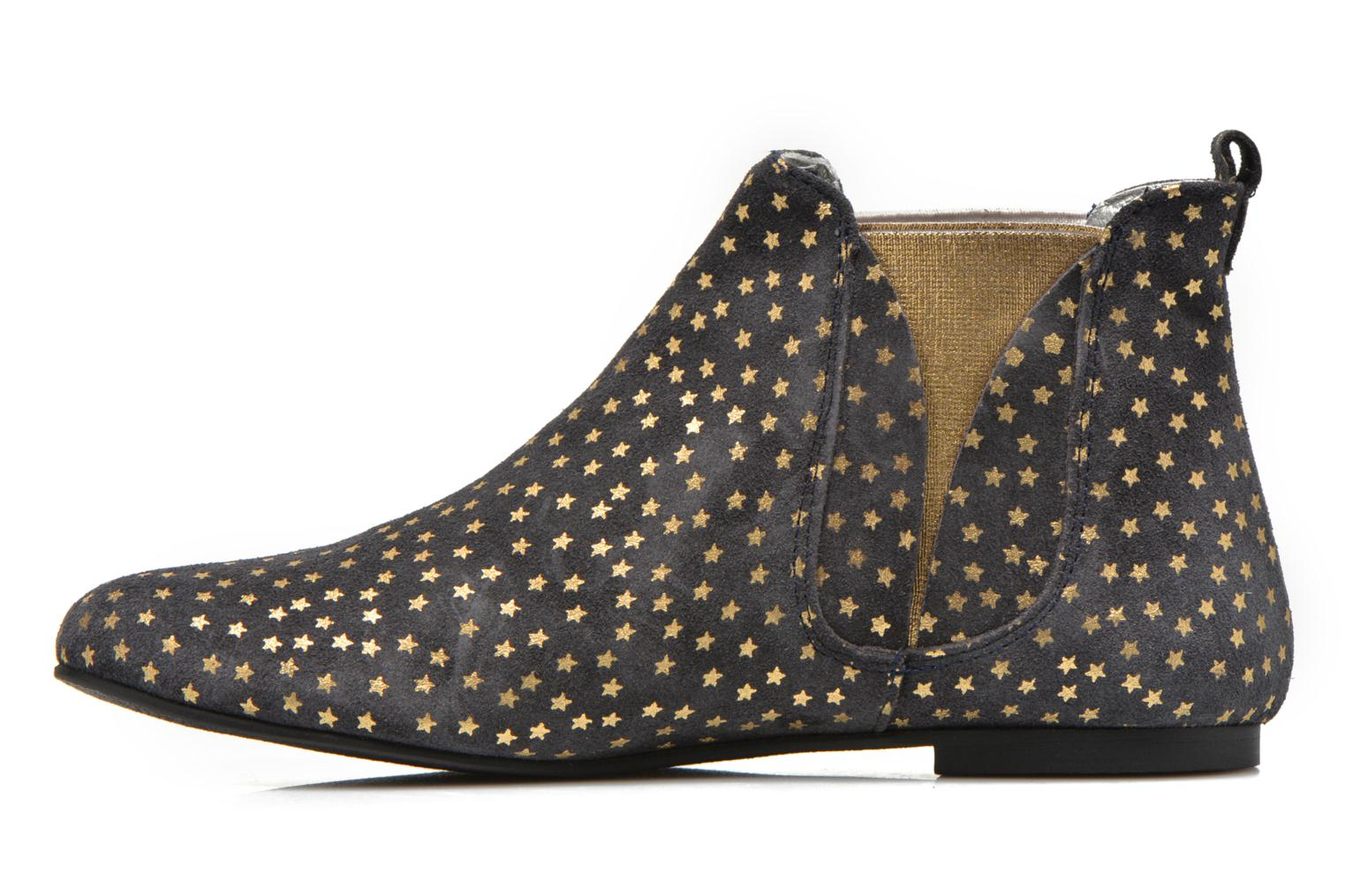Ankle boots Ippon Vintage Patch gold Blue front view