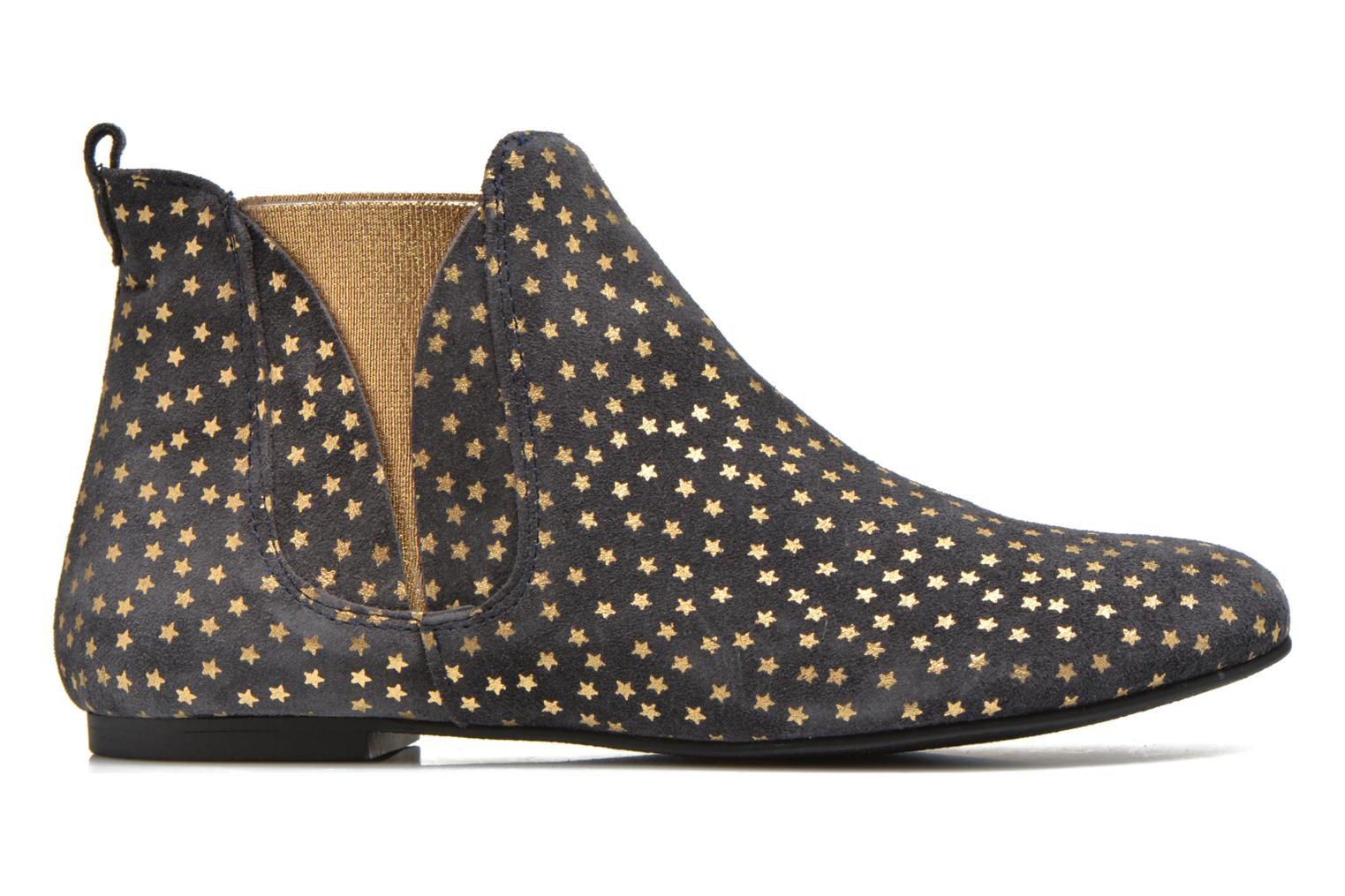 Ankle boots Ippon Vintage Patch gold Blue back view