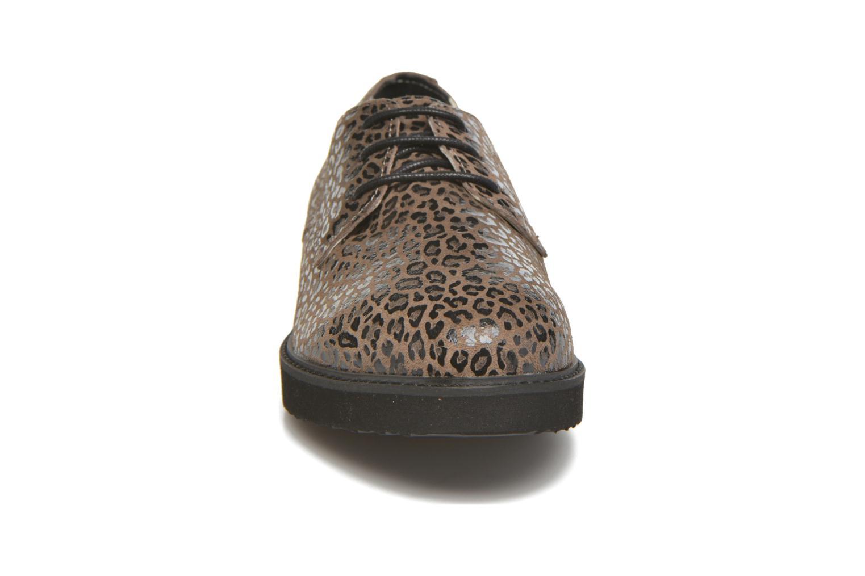 Chaussures à lacets Ippon Vintage James Léo Marron vue portées chaussures