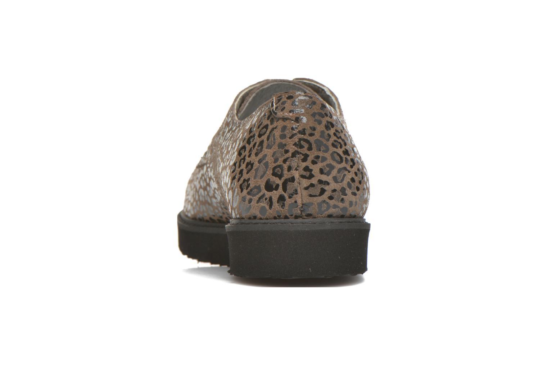 Chaussures à lacets Ippon Vintage James Léo Marron vue droite