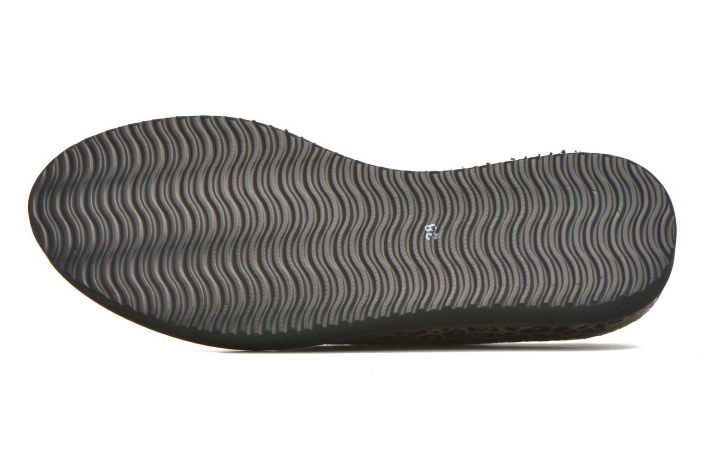 Chaussures à lacets Ippon Vintage James Léo Marron vue haut