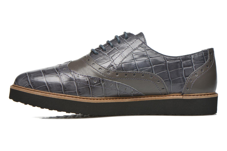 Chaussures à lacets Ippon Vintage Andy croco Gris vue face