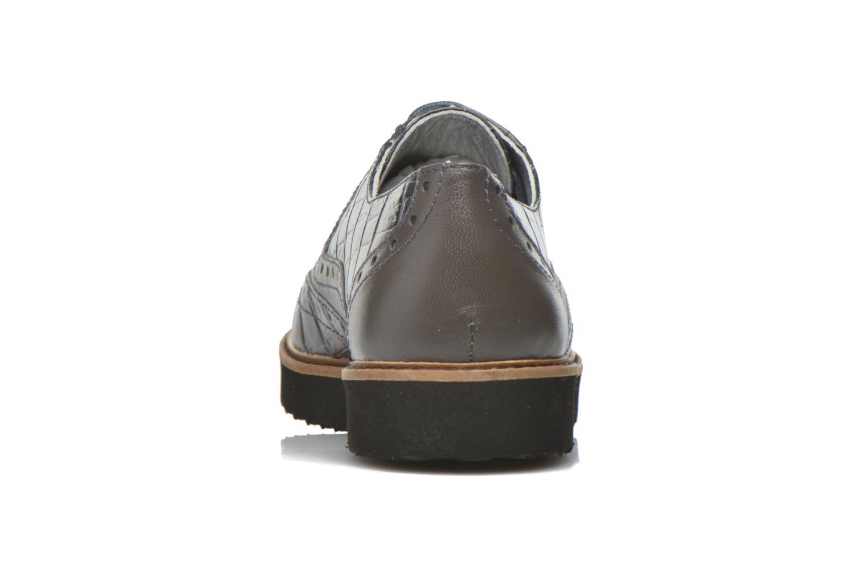 Schnürschuhe Ippon Vintage Andy croco grau ansicht von rechts