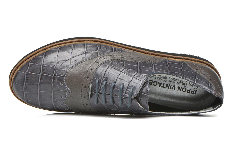 Chaussures à lacets Ippon Vintage Andy croco Gris vue gauche