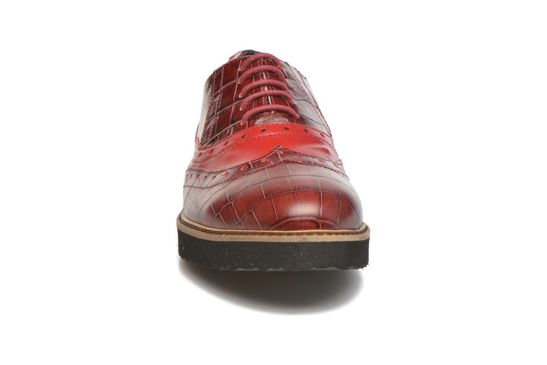 Schnürschuhe Ippon Vintage Andy croco rot schuhe getragen